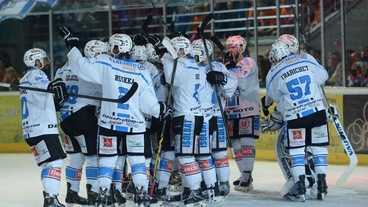Les Rapaces de Gap, sacrés champions de France de hockey sur glace