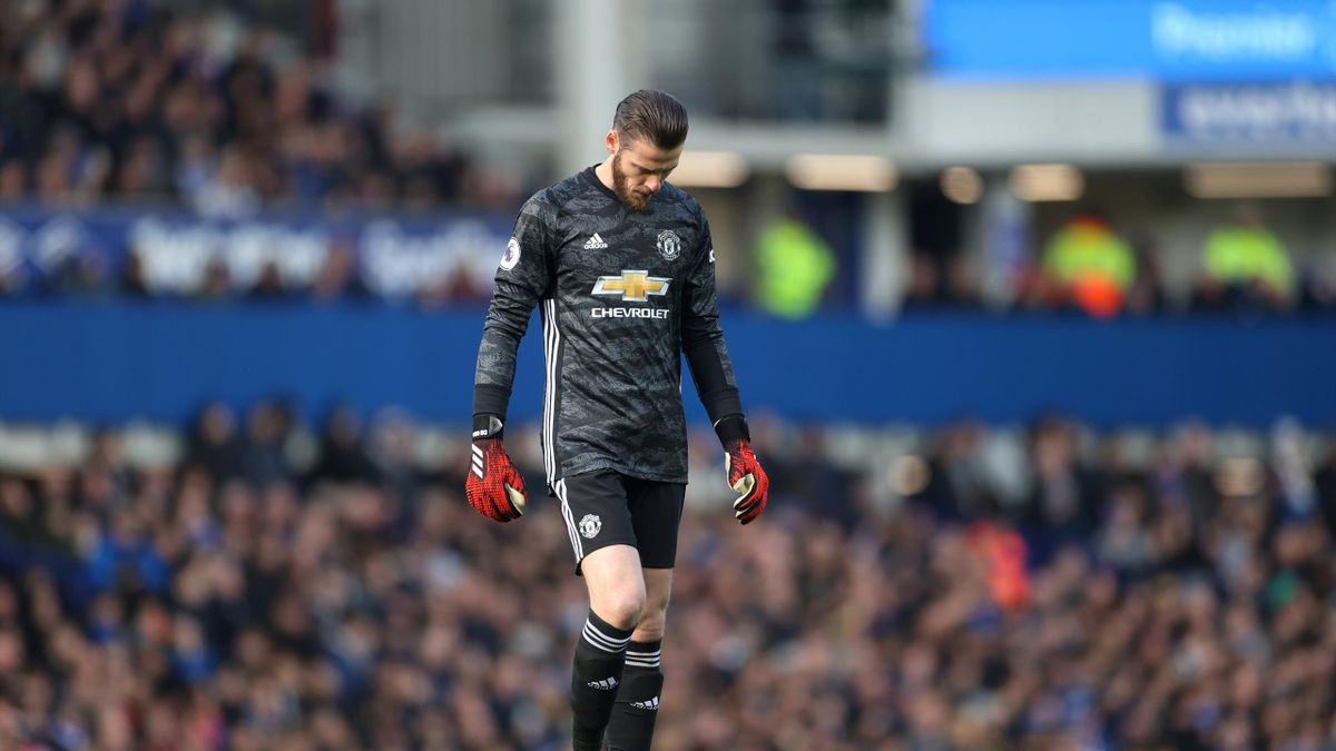 Everton v Manchester United - Goodison Park, Liverpool, Britain - March 1, 2020 Manchester United's David de Gea