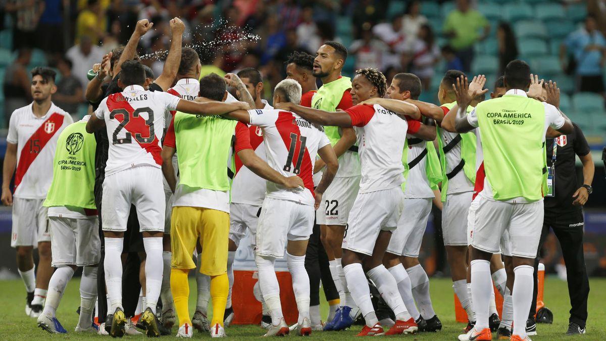 Le Pérou qualifié pour les demies de la Copa America 2019