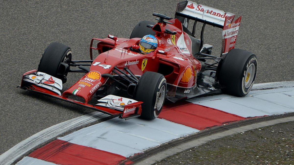 Fernando Alonso Formula One Chinese Grand Prix in Shanghai (AFP)