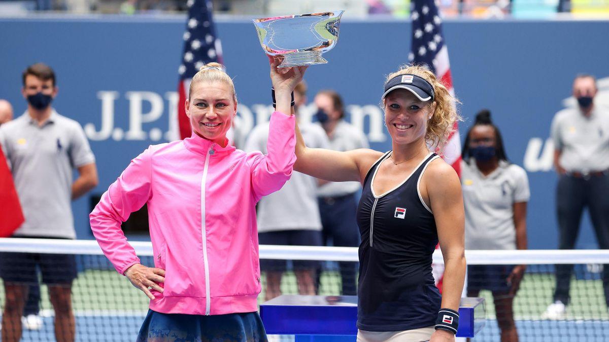 Vera Zvonareva und Laura Siegemund haben die US Open gewonnen