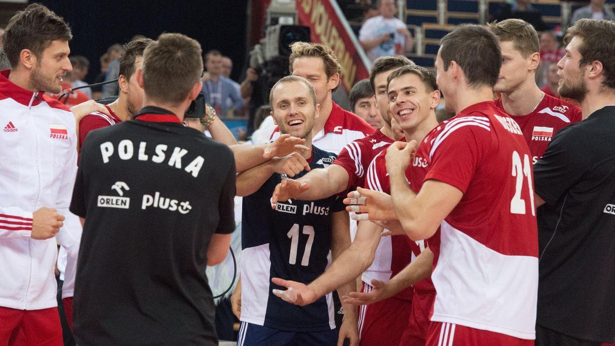 La joie des Polonais après leur qualification pour le dernier carré