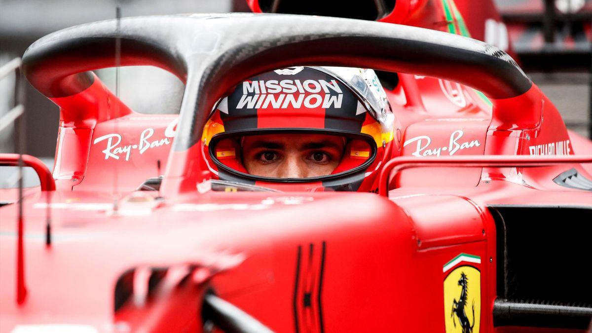 Carlos Sainz (Ferrari). GP Mónaco 2021
