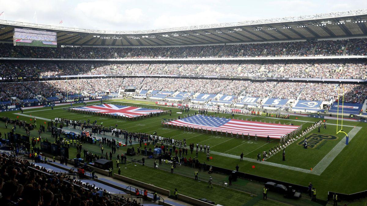 Los Angeles Rams v New York Giants - NFL International Series - Twickenham Stadium