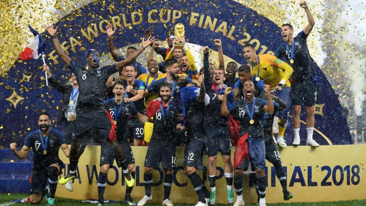 Franța, campioană mondială în 2018