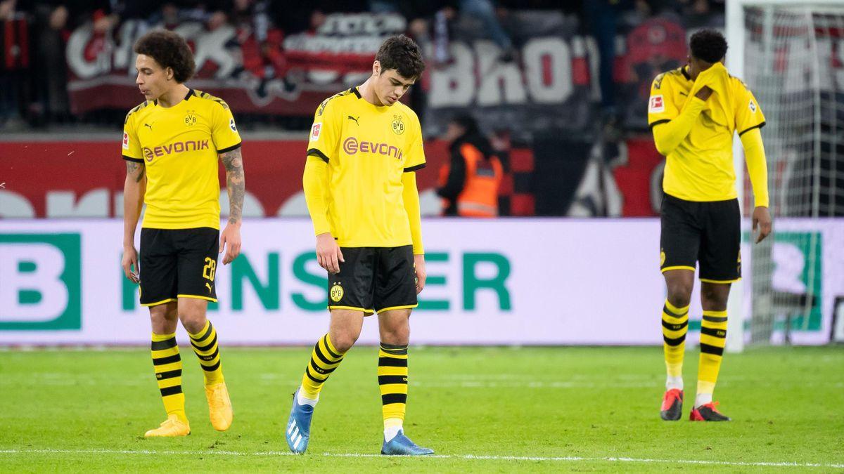 BVB: Axel Witsel, Giovanni Reyna und Dan-Axel Zagadou