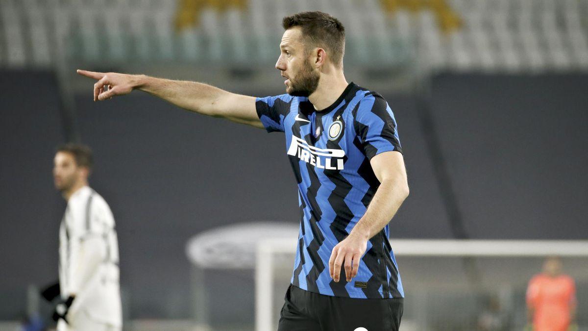 Juventus-Inter, Coppa Italia 2020-2021: Stefan de Vrij (Inter) (Getty Images)