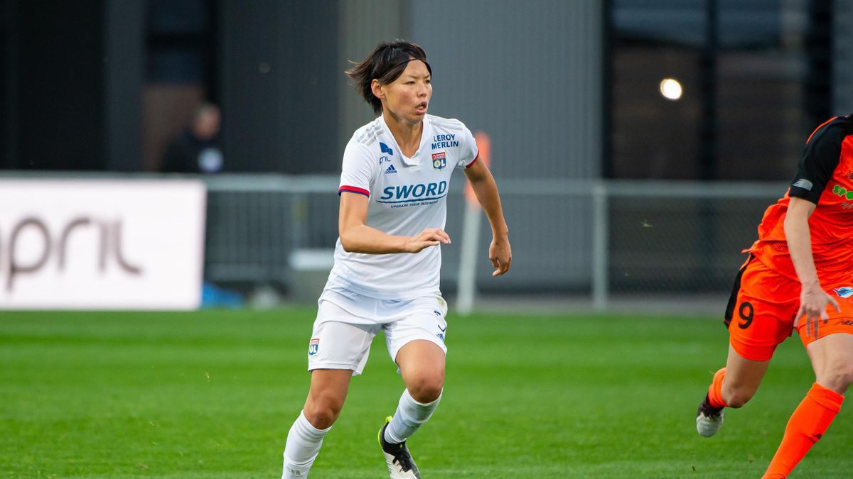 Saki Kumagai, la joueuse de l'Olympique Lyonnais
