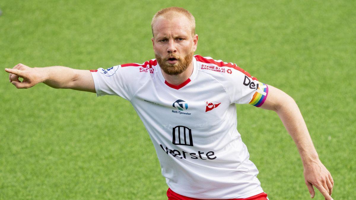 FFK-kaptein Henrik Kjelsrud Johansen.