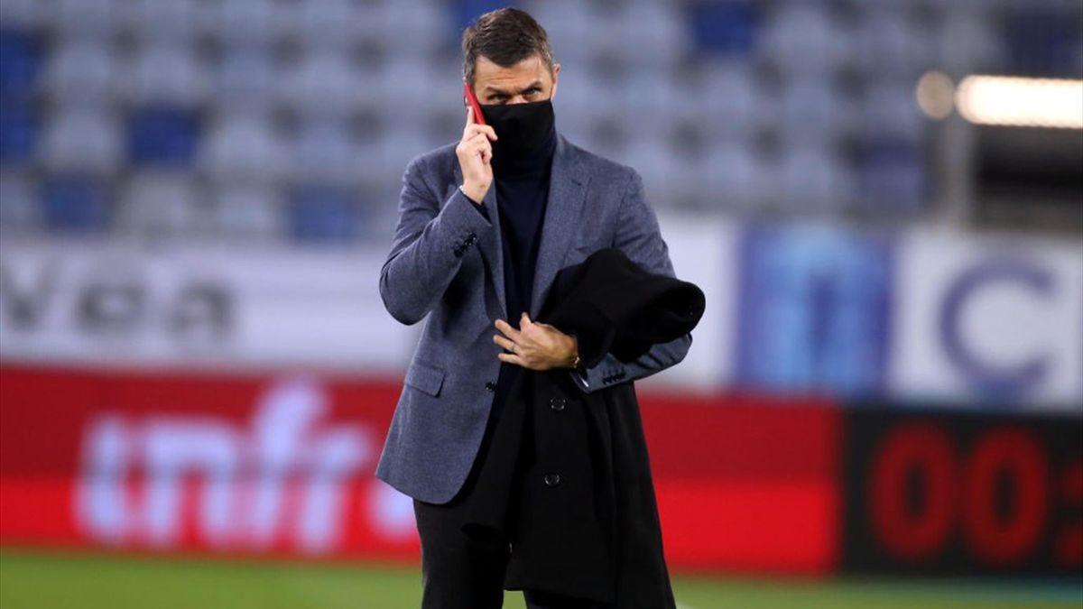 Maldini - Cagliari-Milan - Serie A 2020/2021 - Getty Images
