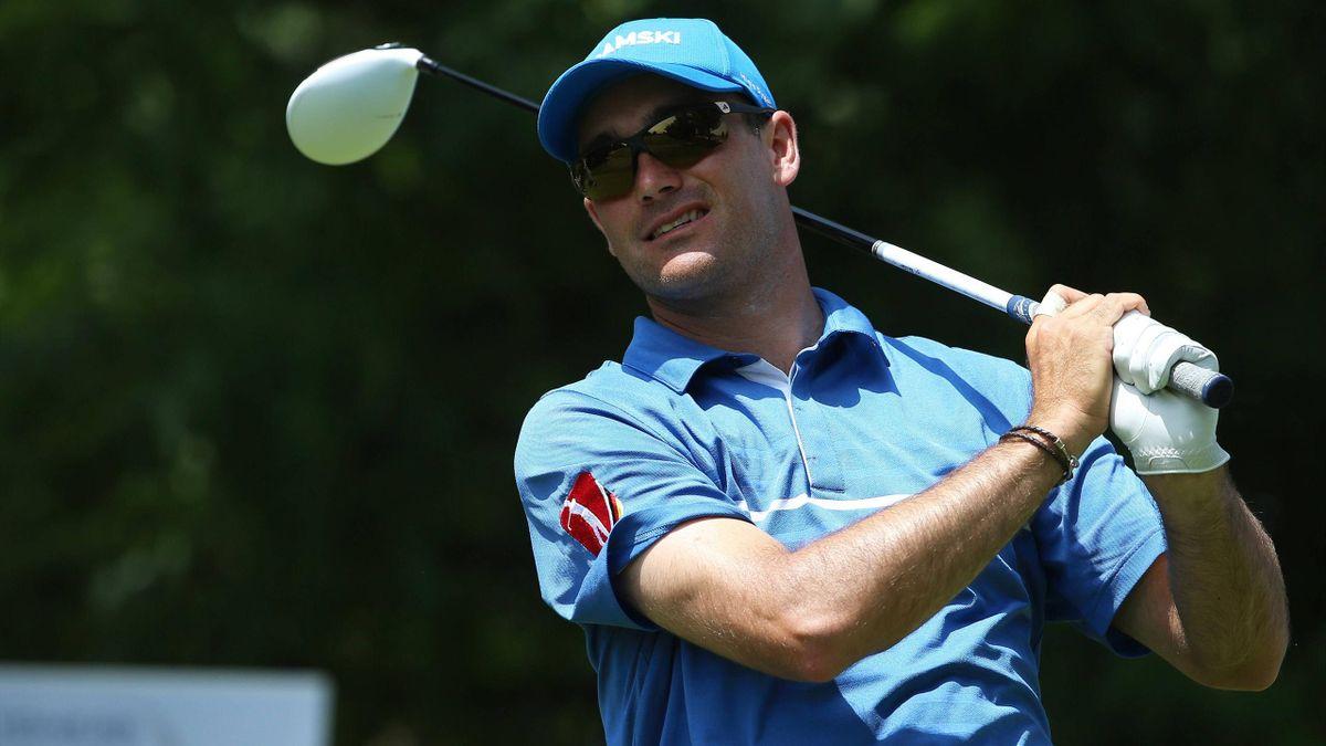 Florian Fritsch ist vor dem letzten Turniertag in Prag auf dem zehnten Platz