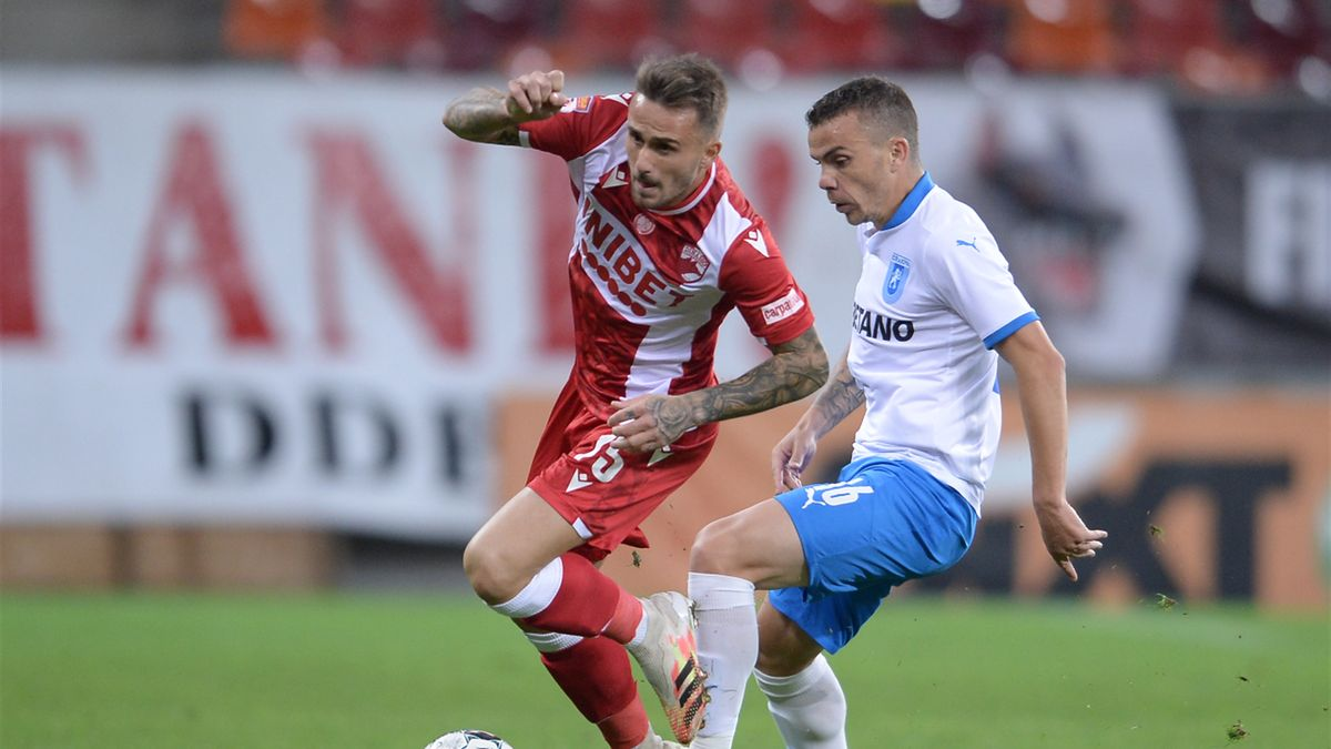 Aleix Garcia, Dinamo. Sursa foto: Mediafax