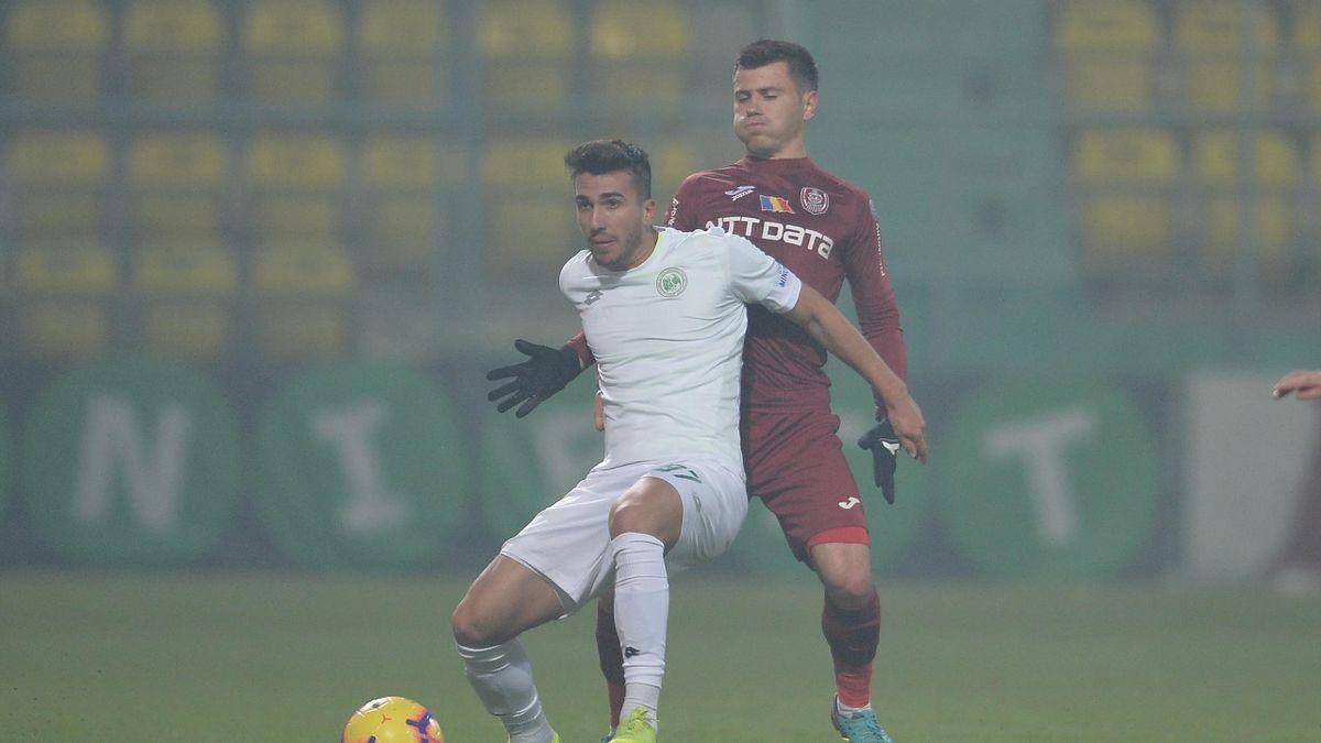 Ronaldo Deaconu, în duel cu Andrei Mureșan