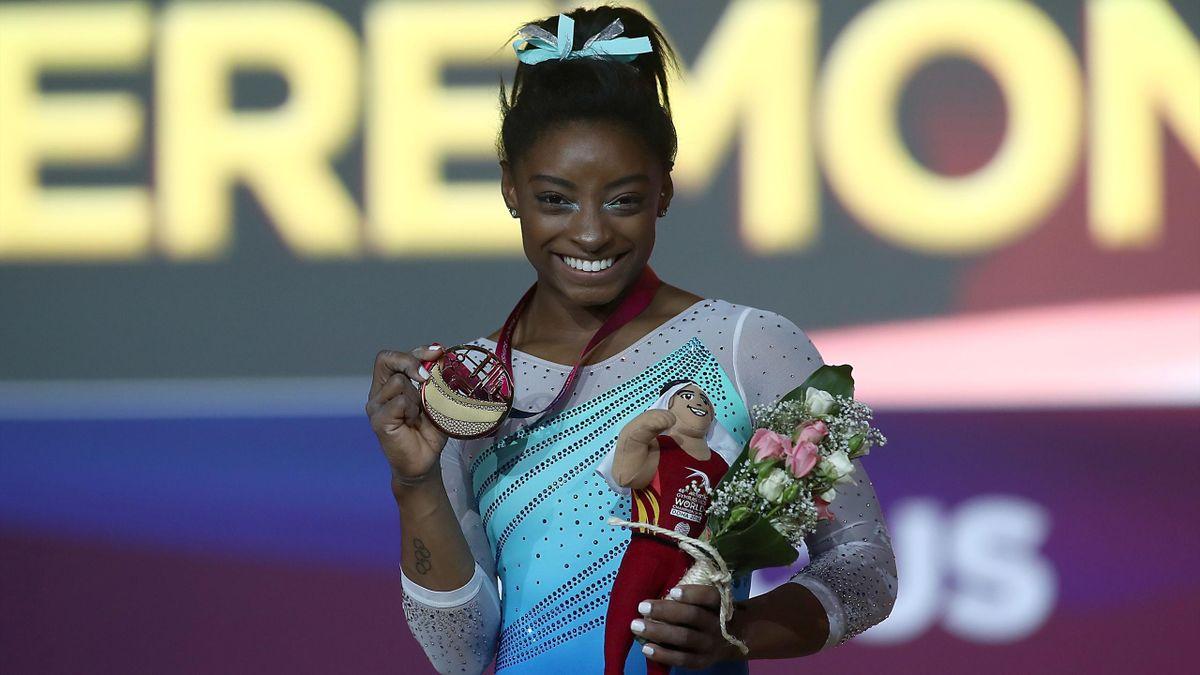 Simone Biles - World Champion - 2018