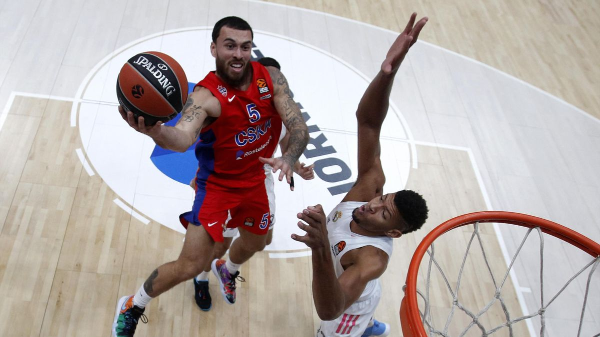 Mike James, CSKA Mosca-Real Madrid, 2020-21