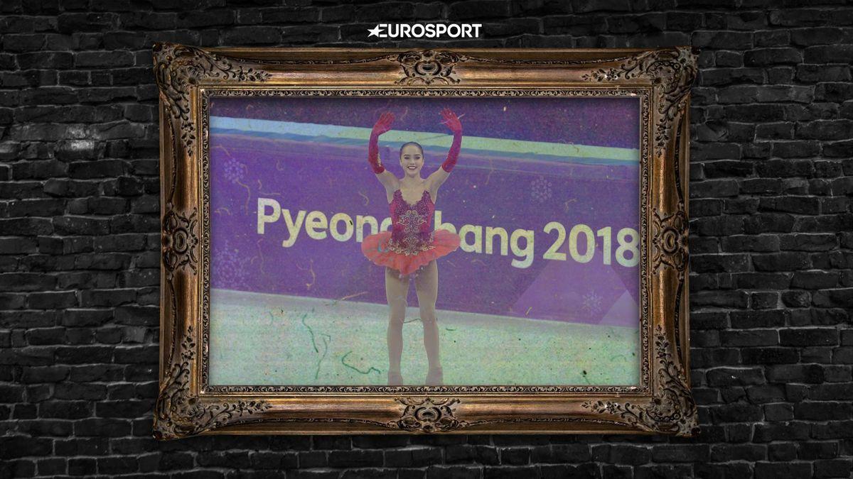 История великого фото: Загитова в красной пачке выиграла Олимпиаду