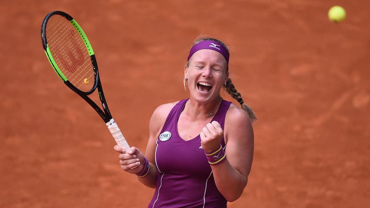 Kiki Bertens in WTA-Madrid