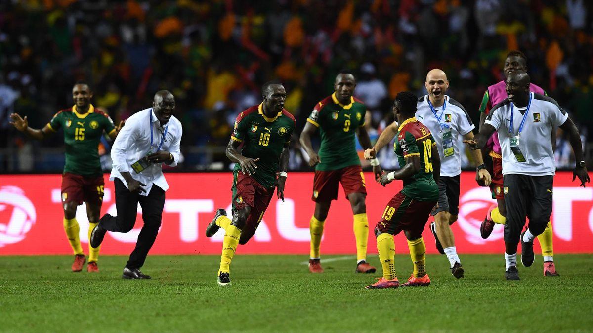 Après le chef d'oeuvre de Vincent Aboubakar en finale contre l'Egypte, tout le staff camerounais a exulté
