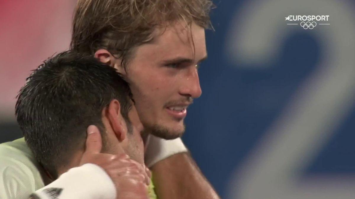 Huge shock as Zverev dashes Djokovic's Golden Slam hopes to reach final