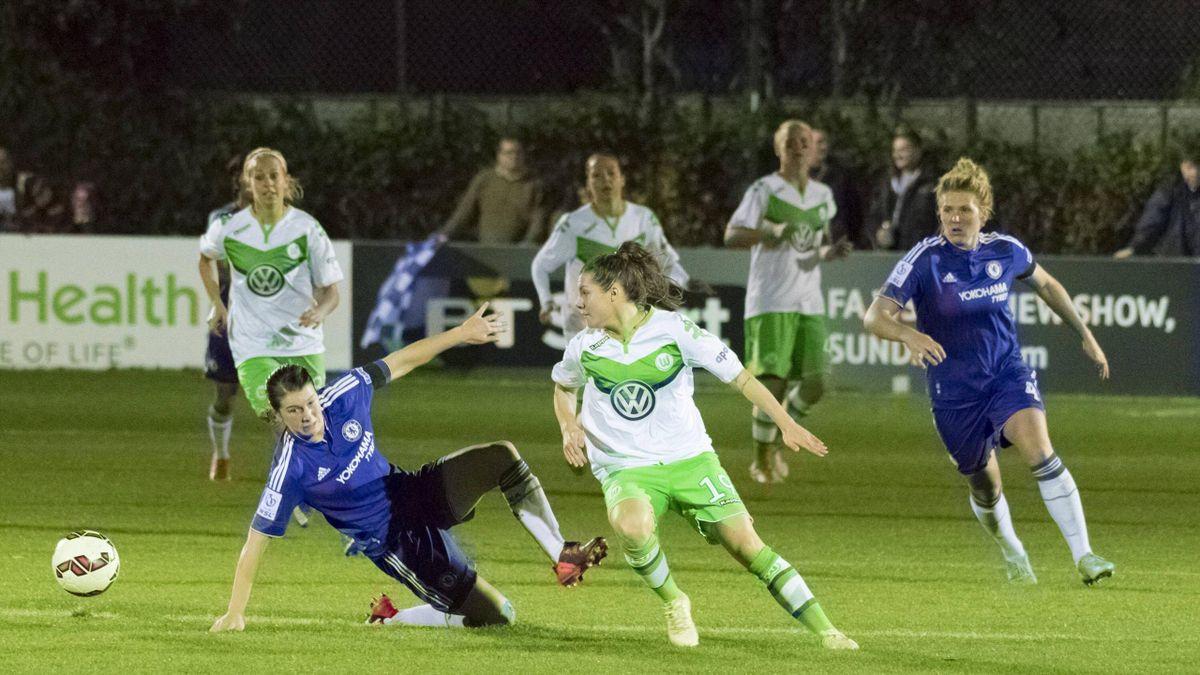 Wolfsburg v Chelsea women