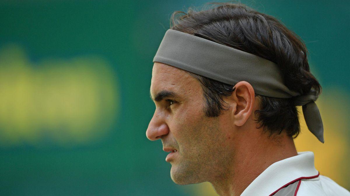 Roger Federer geht als Titelverteidiger beim ATP in Halle an den Start