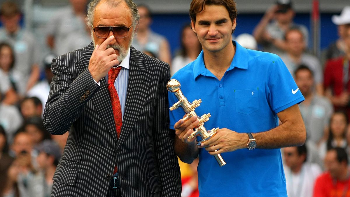 Ion Țiriac & Roger Federer