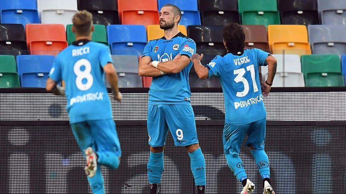 Andrej Galabinov - Udinese-Spezia Serie A 2020-21