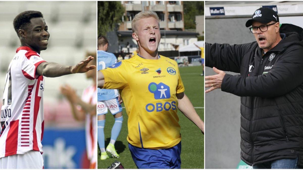 Eric Kitolano, Oscar Aga og Kjetil Rekdal