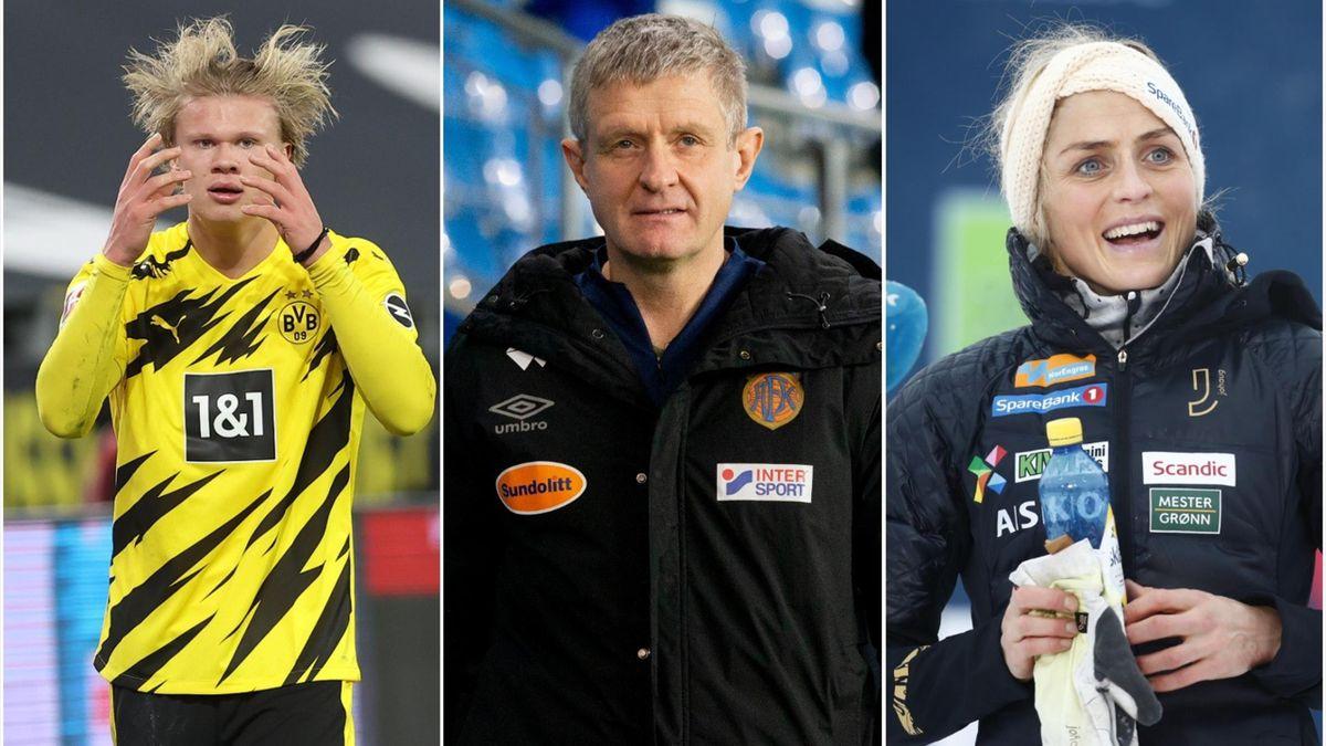 Erling Braut Haaland, Lars Arne Nilsen, Therese Johaug