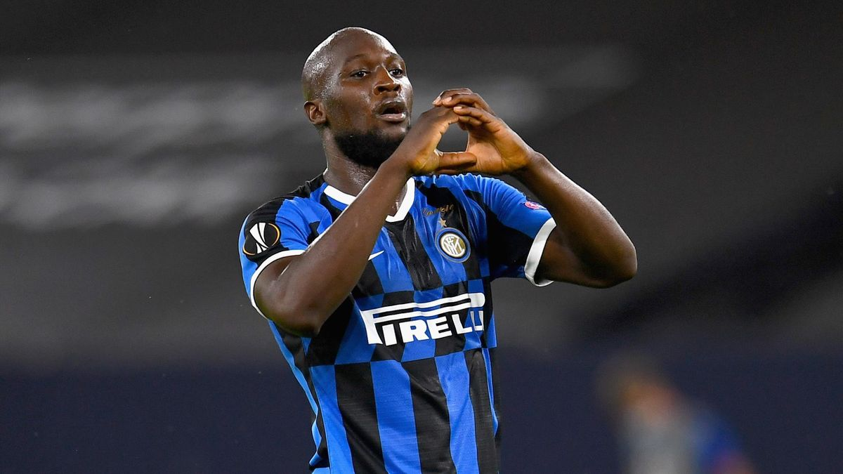 Romelu Lukaku in Inter-Getafe