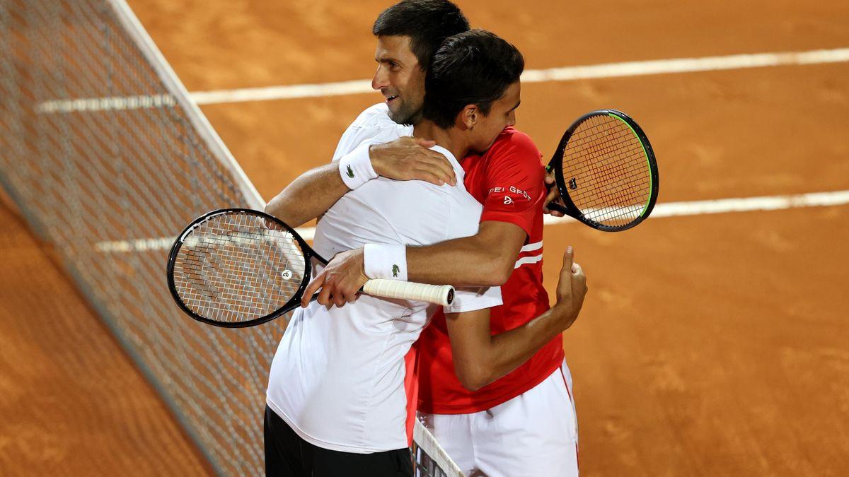 Highlights: Djokovic beats Sonego to set up Nadal final