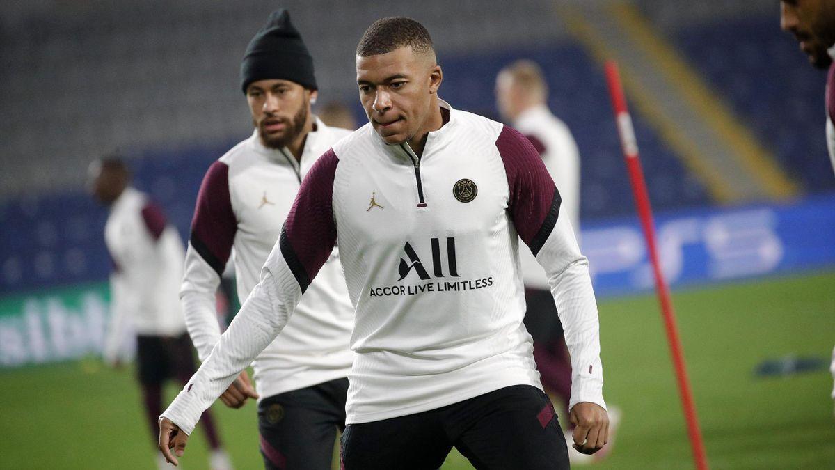 Kylian Mbappe and Neymar Jr