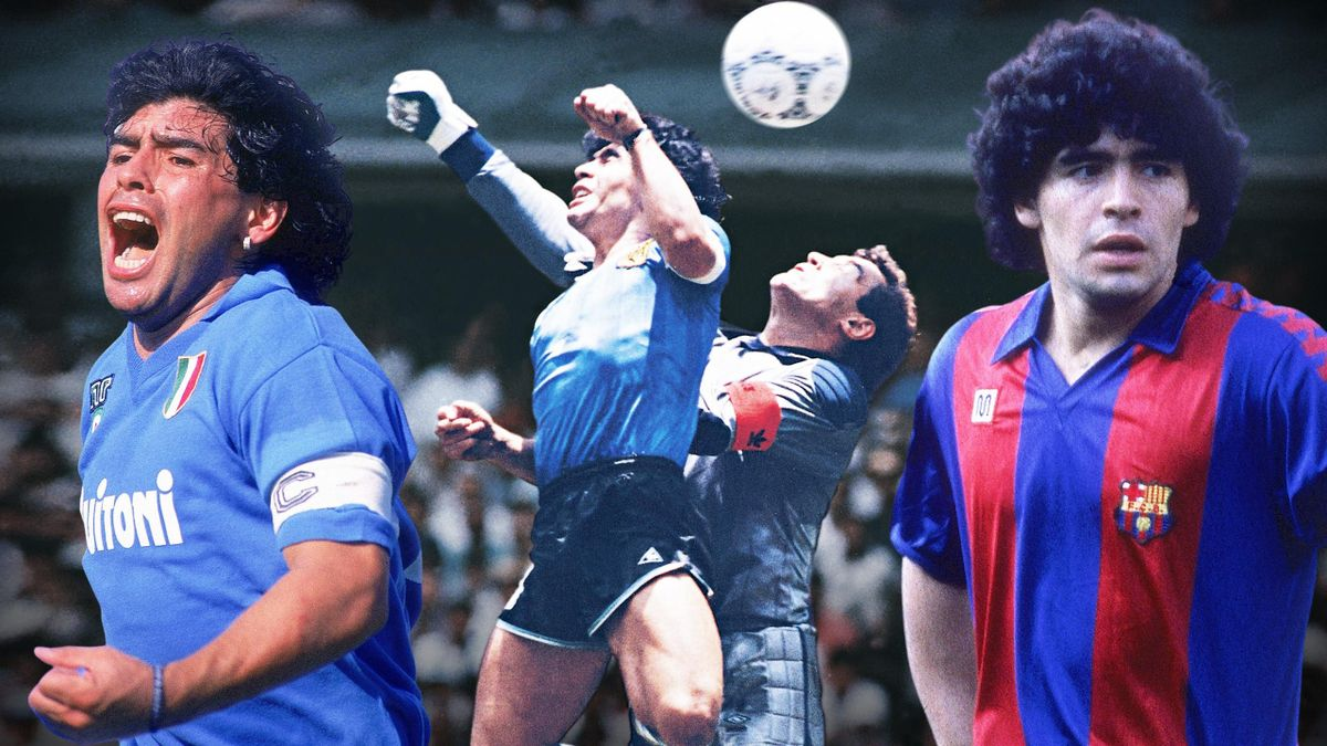 Diego Armando Maradona (1960 - 2020).