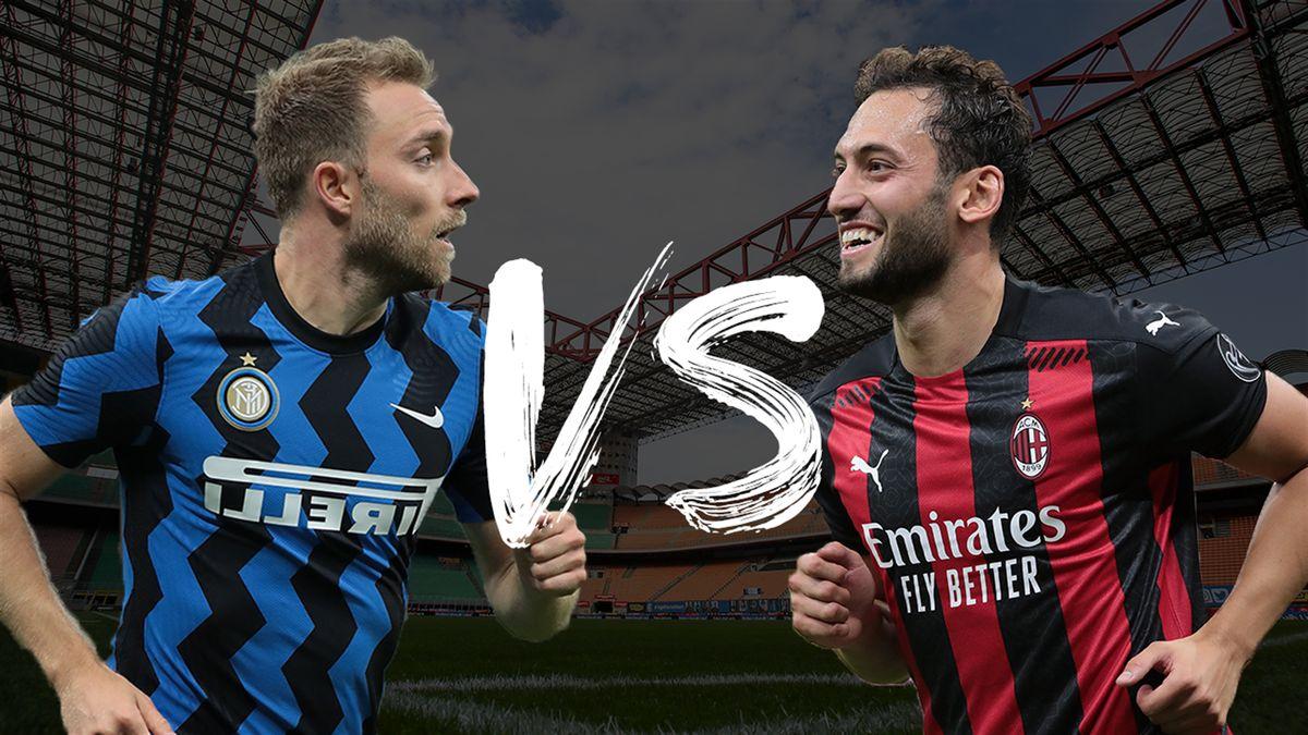Serie A, Inter-Milan: Calhanoglu-Eriksen, storie di opposti - Eurosport
