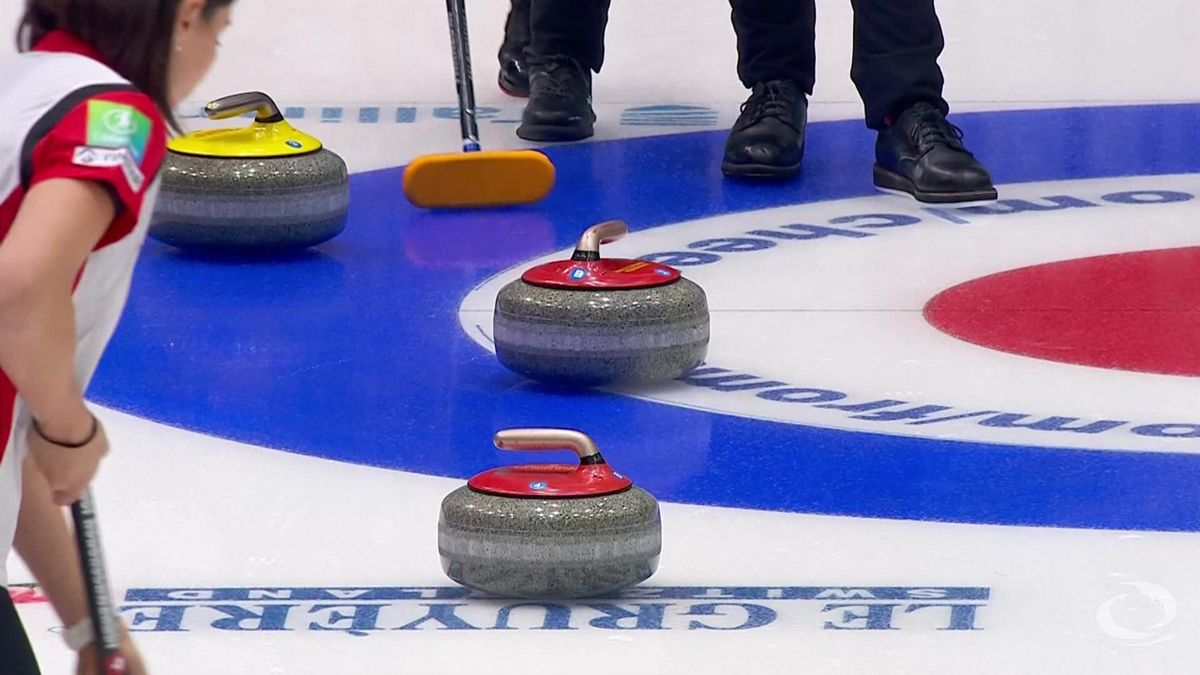 Curling European Championship Estonia - Sweden wins Women Gold Medal match