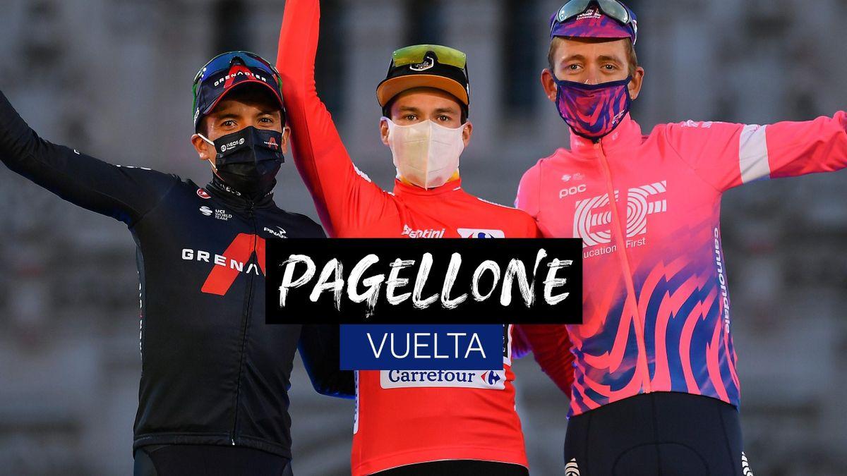 Il pagellone della Vuelta