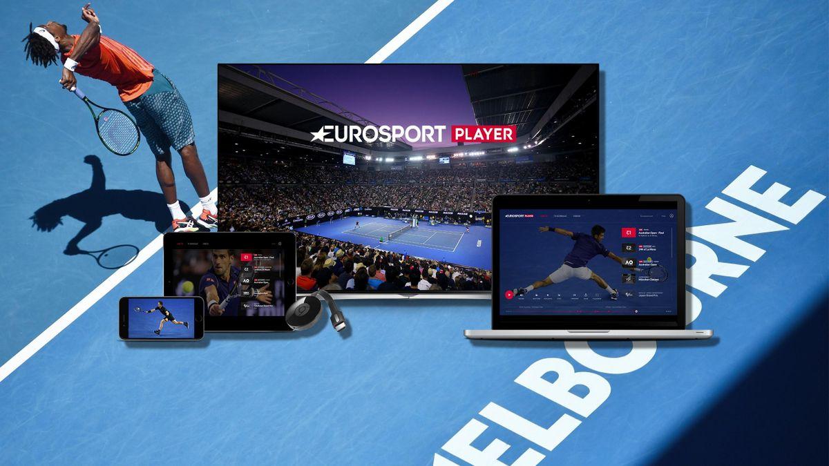 Eurosport Player Australian Open