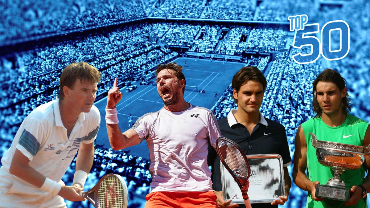 Top 50 Roland-Garros
