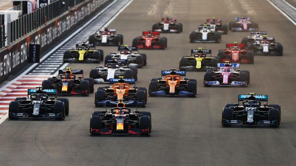 F1 Grand Prix in Abu Dhabi