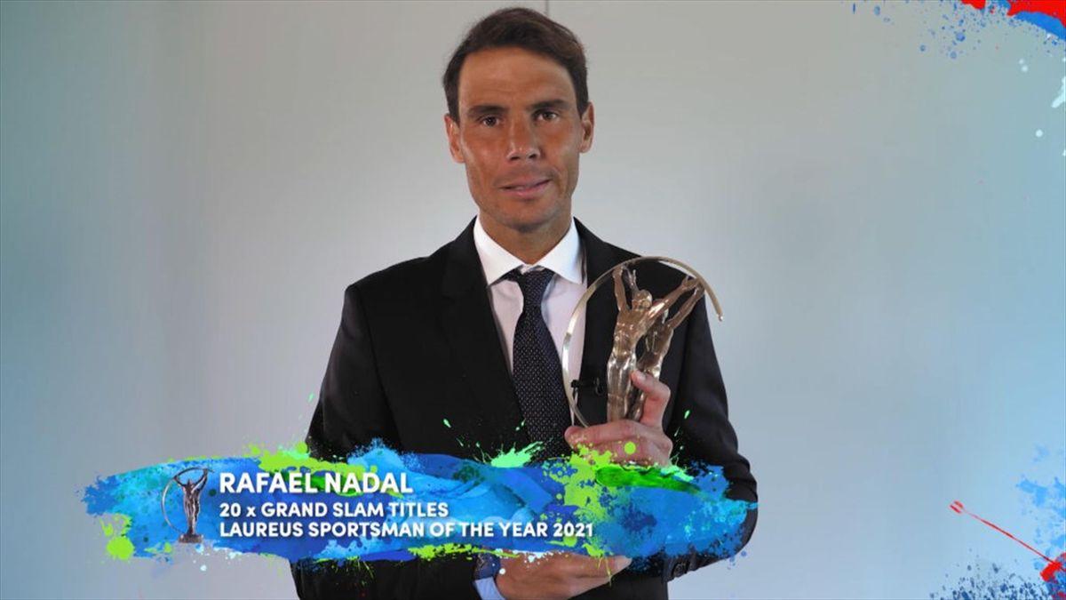 Rafa Nadal - Laureus Awards 2021