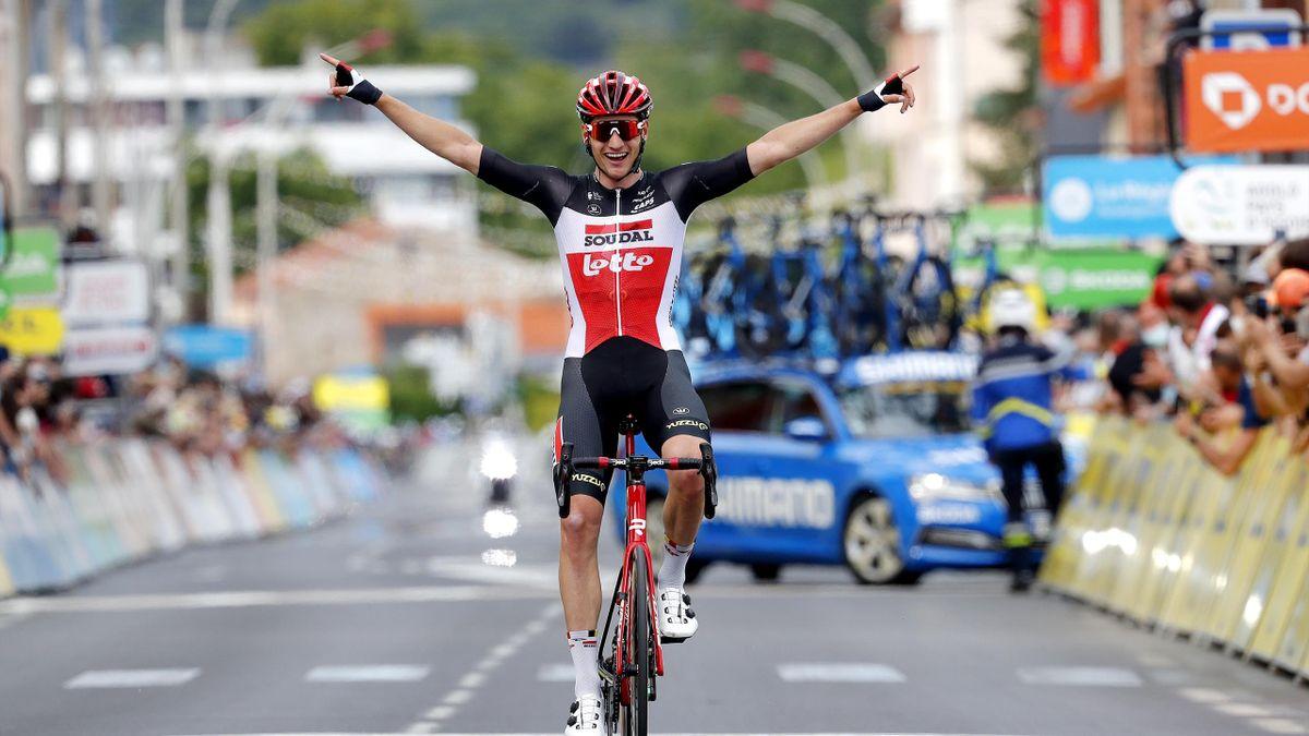 Brent Van Moer gewinnt den Auftakt bei der Dauphiné
