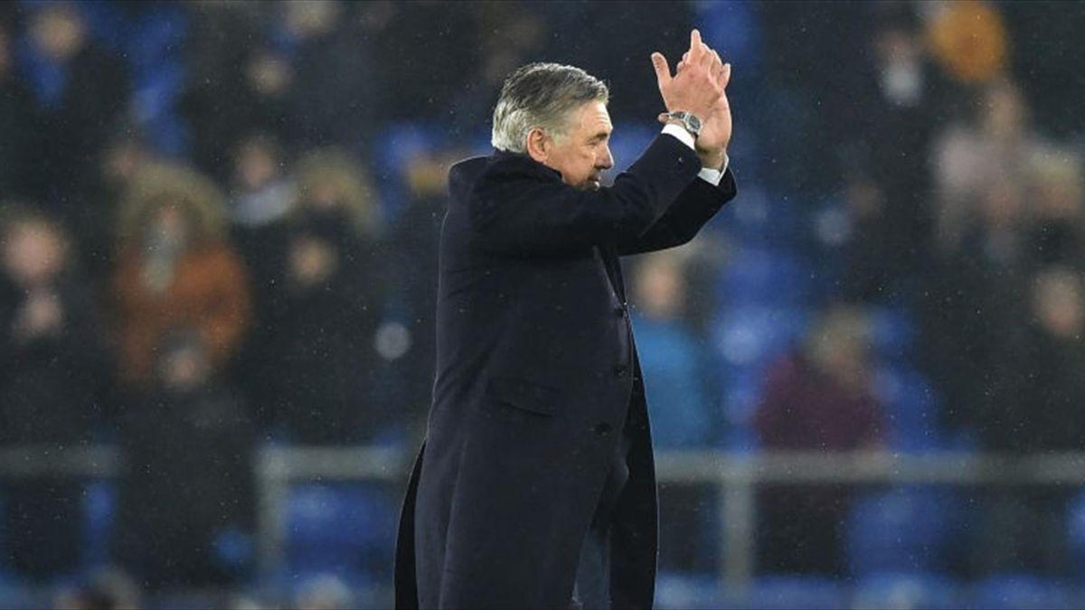 ancelotti debut everton