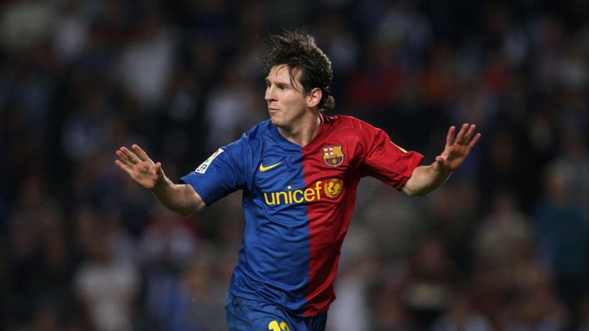 Leo Messi, dorit de Inter în 2008