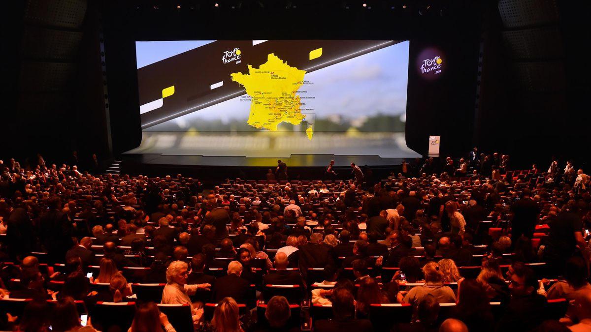 The Tour de France 2020 route presentation took place at Le Palais des Congres