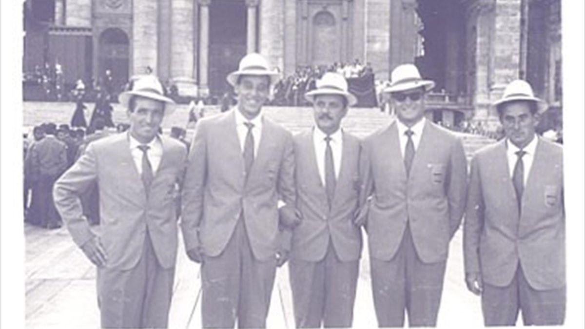 Expedición española de piragüismo en Roma 60' (RFEP)