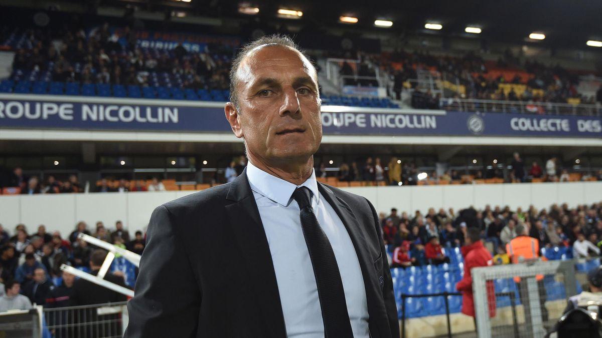 Michel Der Zakarian, l'entraîneur de Montpellier