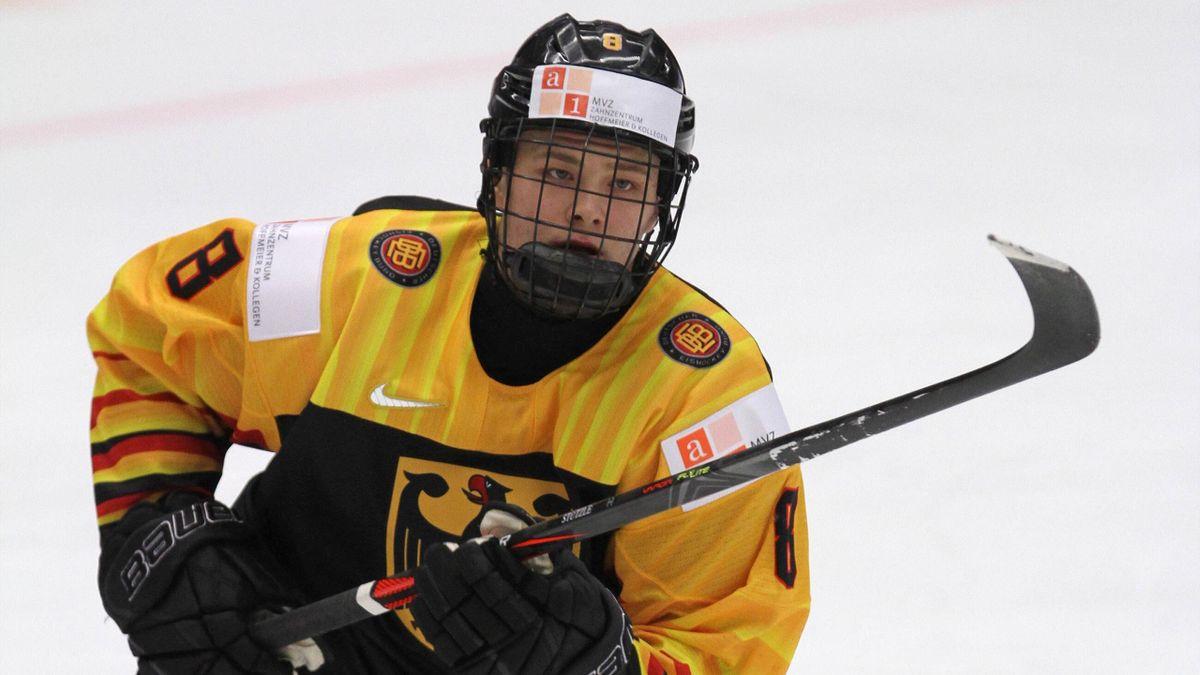 Tim Stützle überzeugte bei der Junioren-WM in Kanada