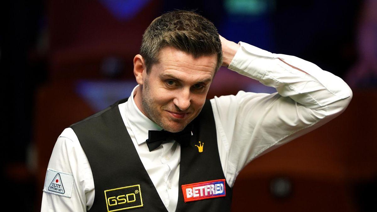 Mark Selby steht bei der Snooker-WM 2021 im Finale