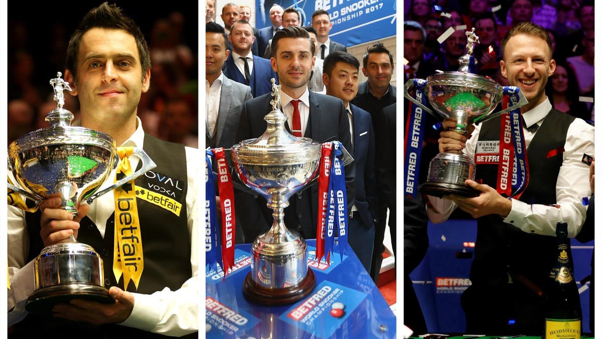 The World Championship is the domain of snooker greats.