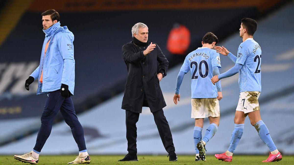 Жозе Моуринью после матче «Манчестер Сити» – «Тоттенхэм»